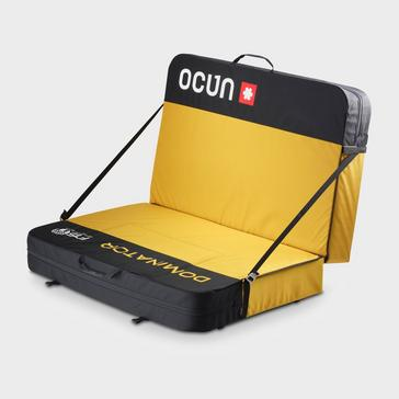 Yellow Ocun Paddy Dominator Crash Pad