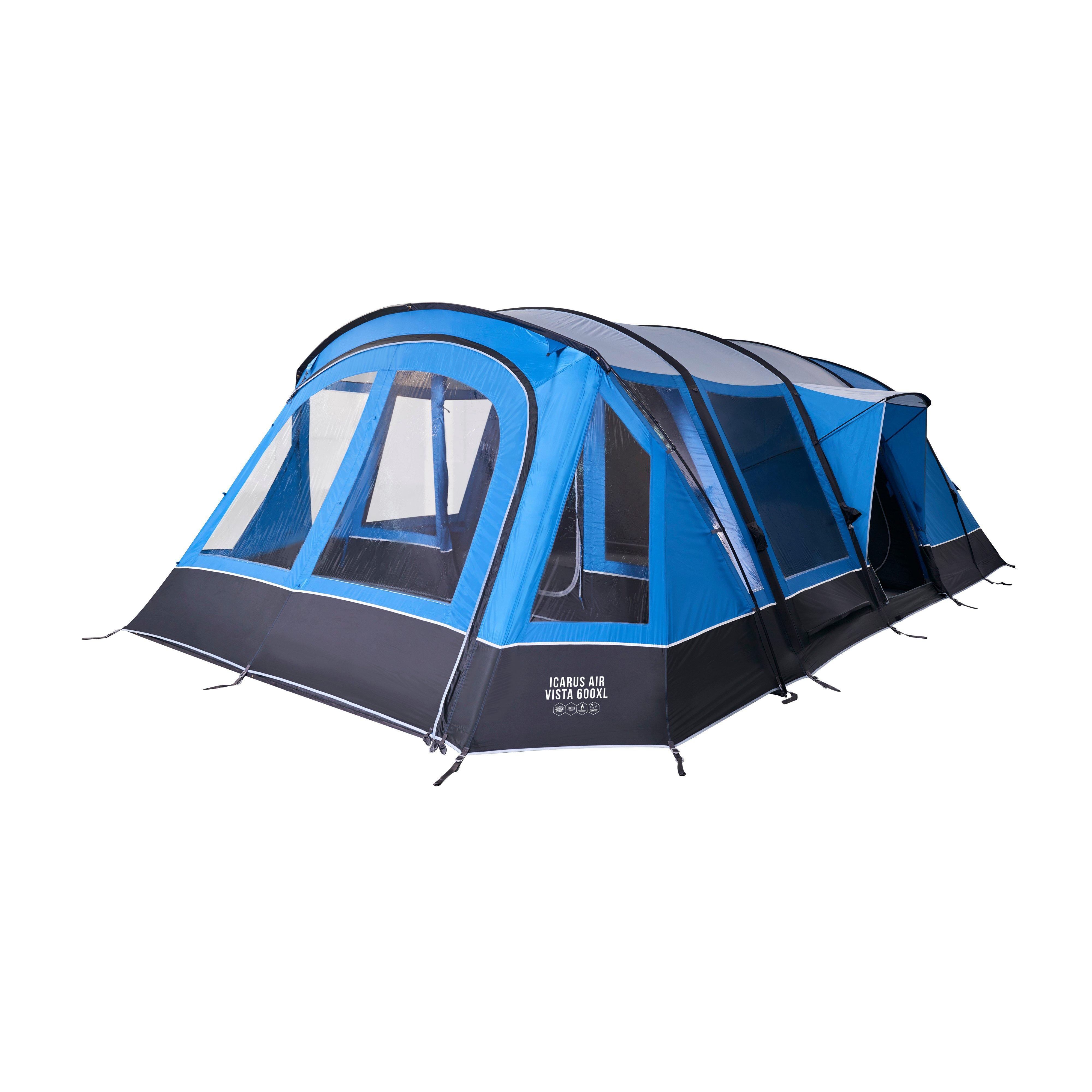 Vango Vango Icarus Air Vista 600XL Inflatable Tent, Blue