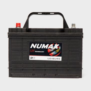 black NUMAX LV30MF 12V 105 Ah Sealed Leisure Battery