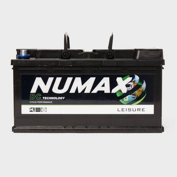 Black NUMAX DC25MF 12V 105Ah Sealed Leisure Battery