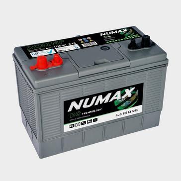 Grey|Grey NUMAX DC31MF 12V 105Ah Sealed Leisure Battery