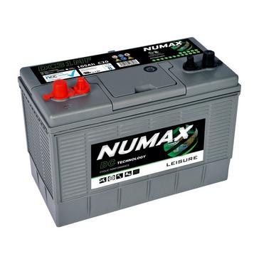 Grey Grey NUMAX DC31MF 12V 105Ah Sealed Leisure Battery