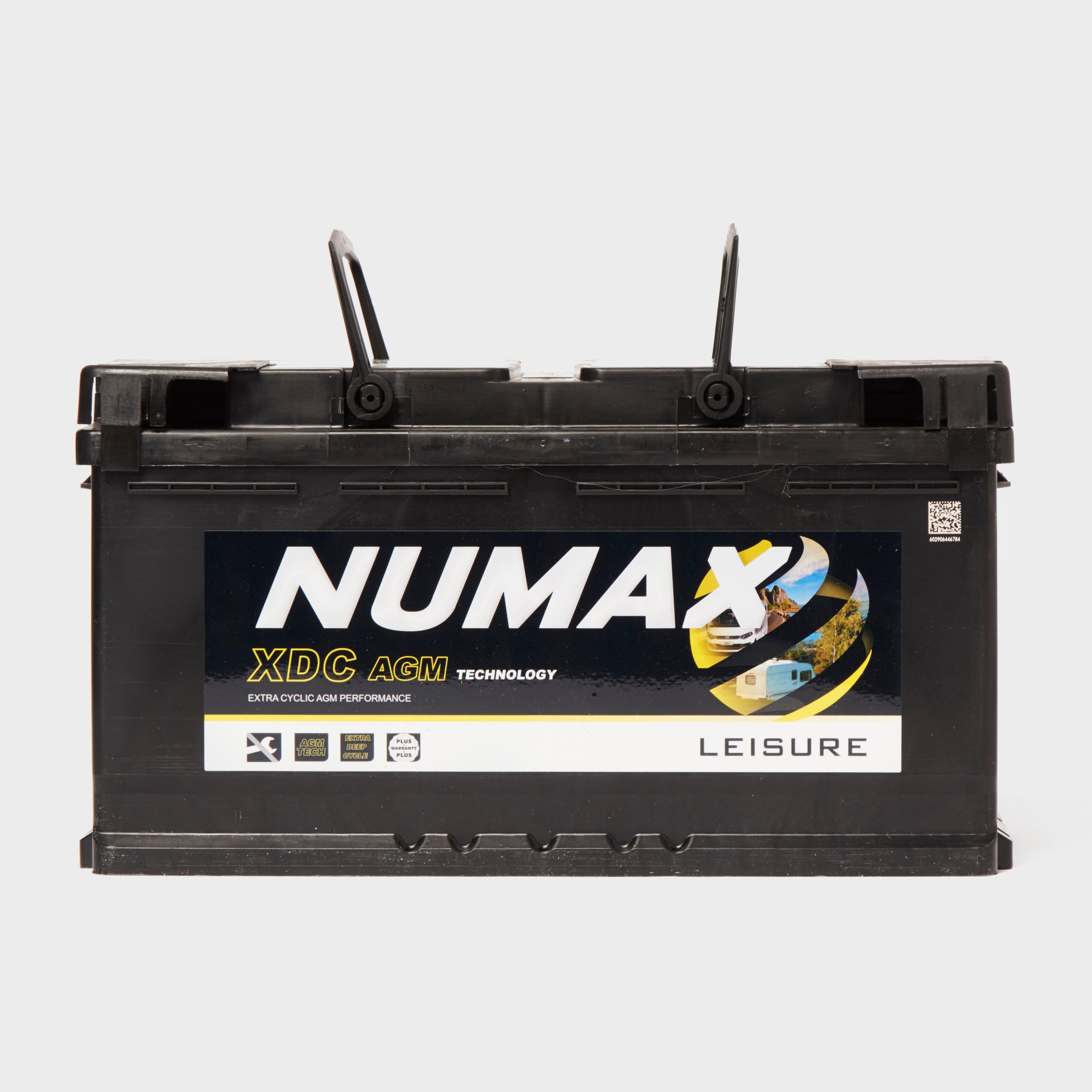 Numax Xdc25Agm 12V 95Ah Sealed Leisure Battery - Black, Black