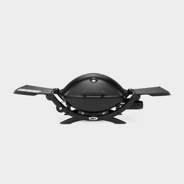 Black Weber Q 2200 Gas BBQ Bundle