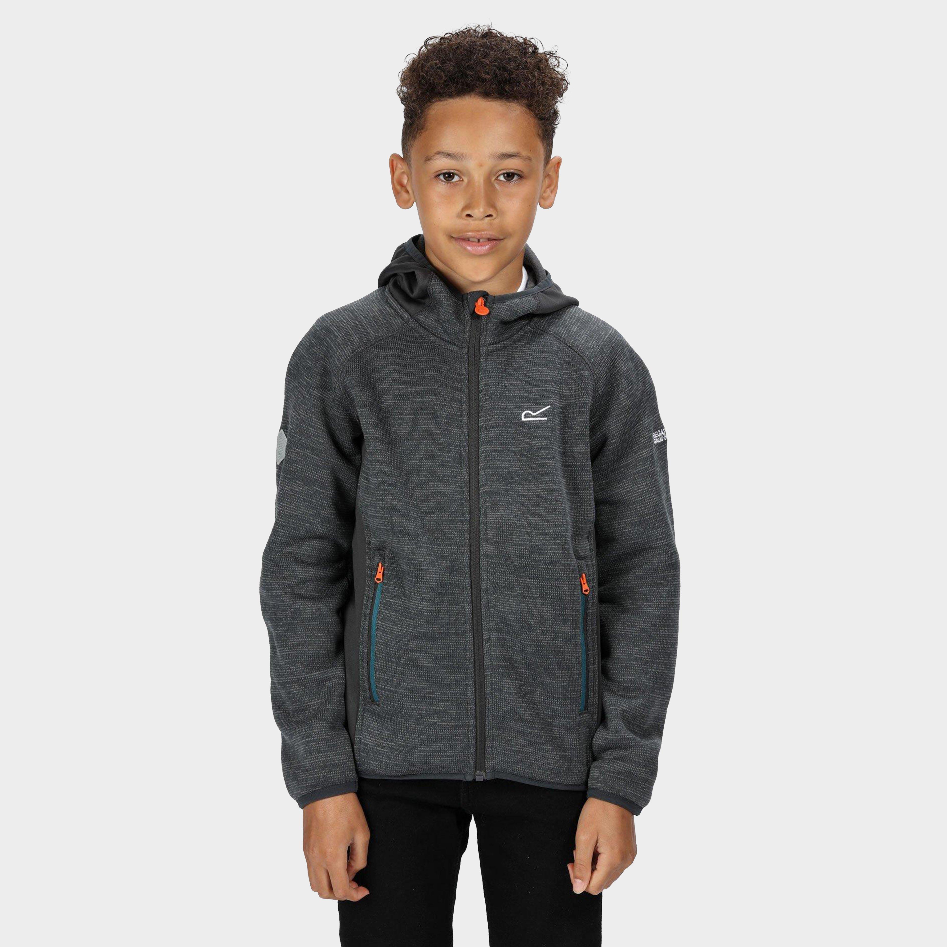 Regatta Kids' Dissolver Ii Fleece - Grey, Grey