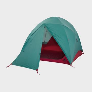 Blue MSR Habitude 4 Tent