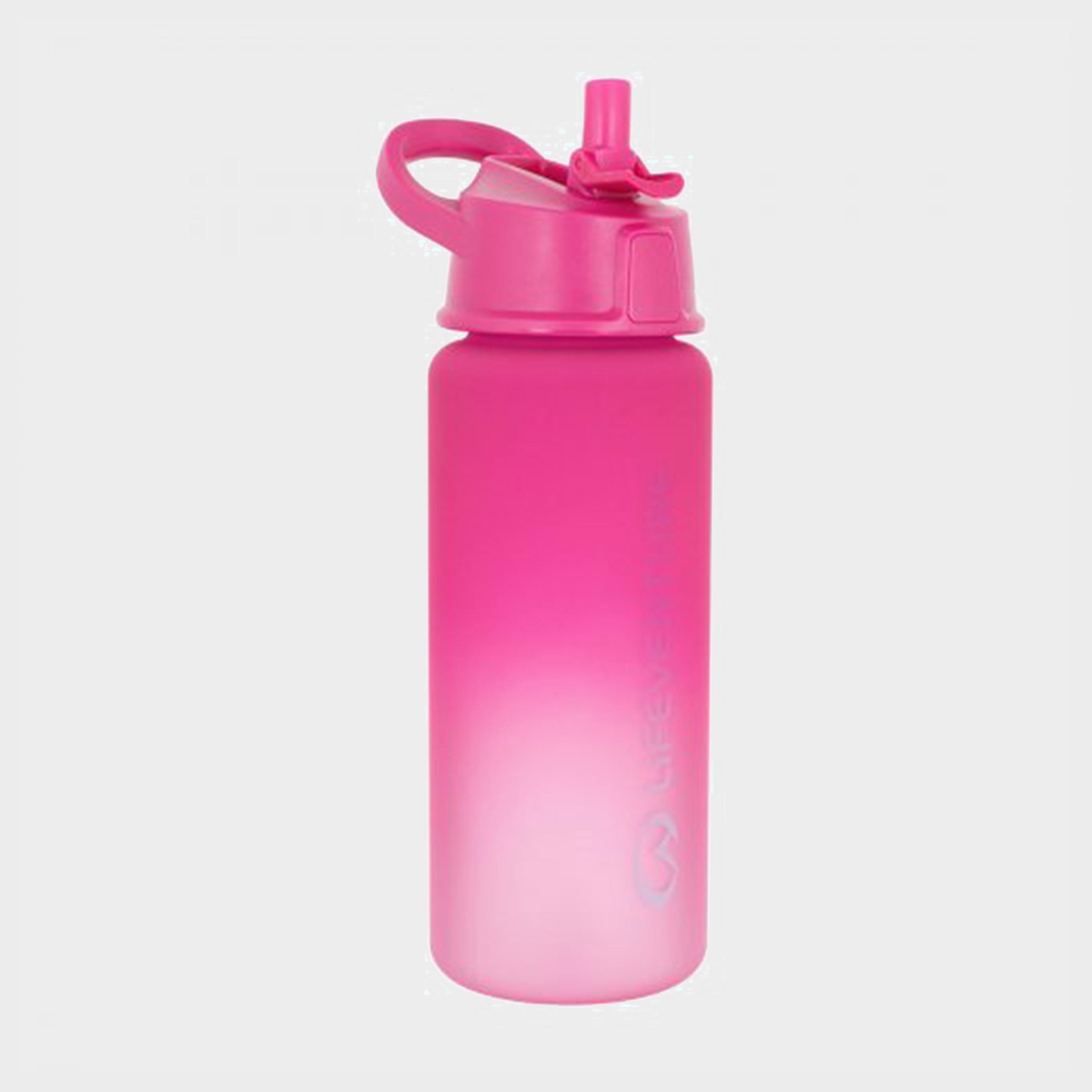 Lifeventure Lifeventure Flip Top Bottle - Pink, Pink