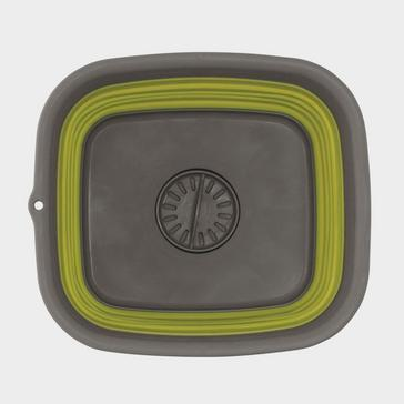Green Outwell Collapsible Wash Bowl