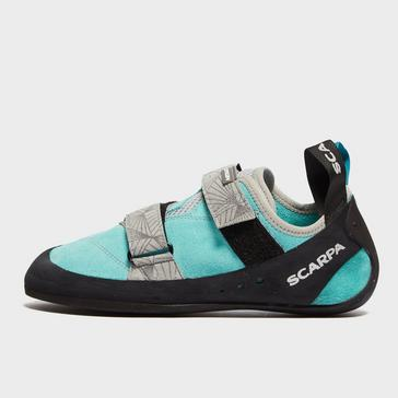 Blue Scarpa Women's Origin V2 Climbing Shoes