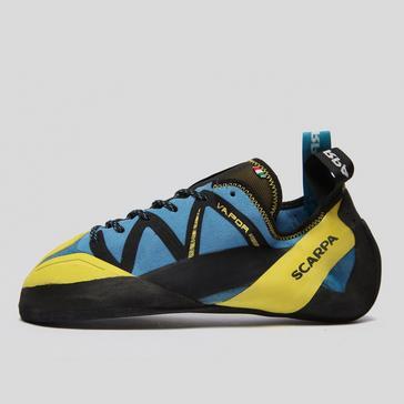 Blue Scarpa Vapour Lace Climbing Shoes