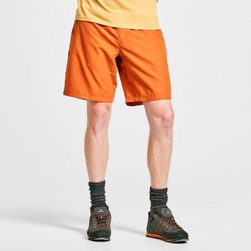 ORANGE Prana Men's Mojo Climbing Shorts