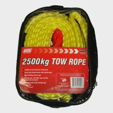 yellow Maypole 3.5m X 2500kg Tow Rope