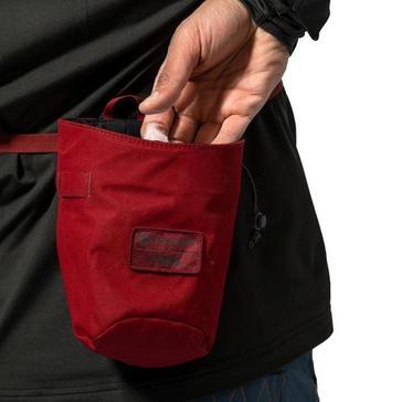 red Montane Finger Jam Chalk Bag