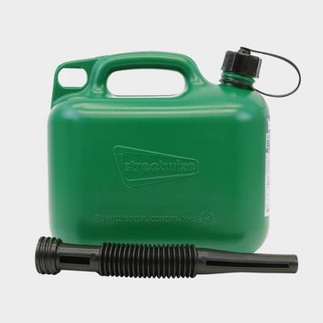 Green STREETWIZE 5L Fuel Can (Unleaded Petrol)