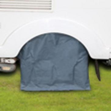 Grey Quest Caravan Wheel Cover