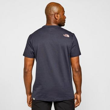 Blue The North Face Men's Simple Dome T-Shirt