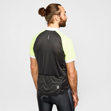 Black Dare 2B Men's Accurate II Full Zip Cycling Jersey