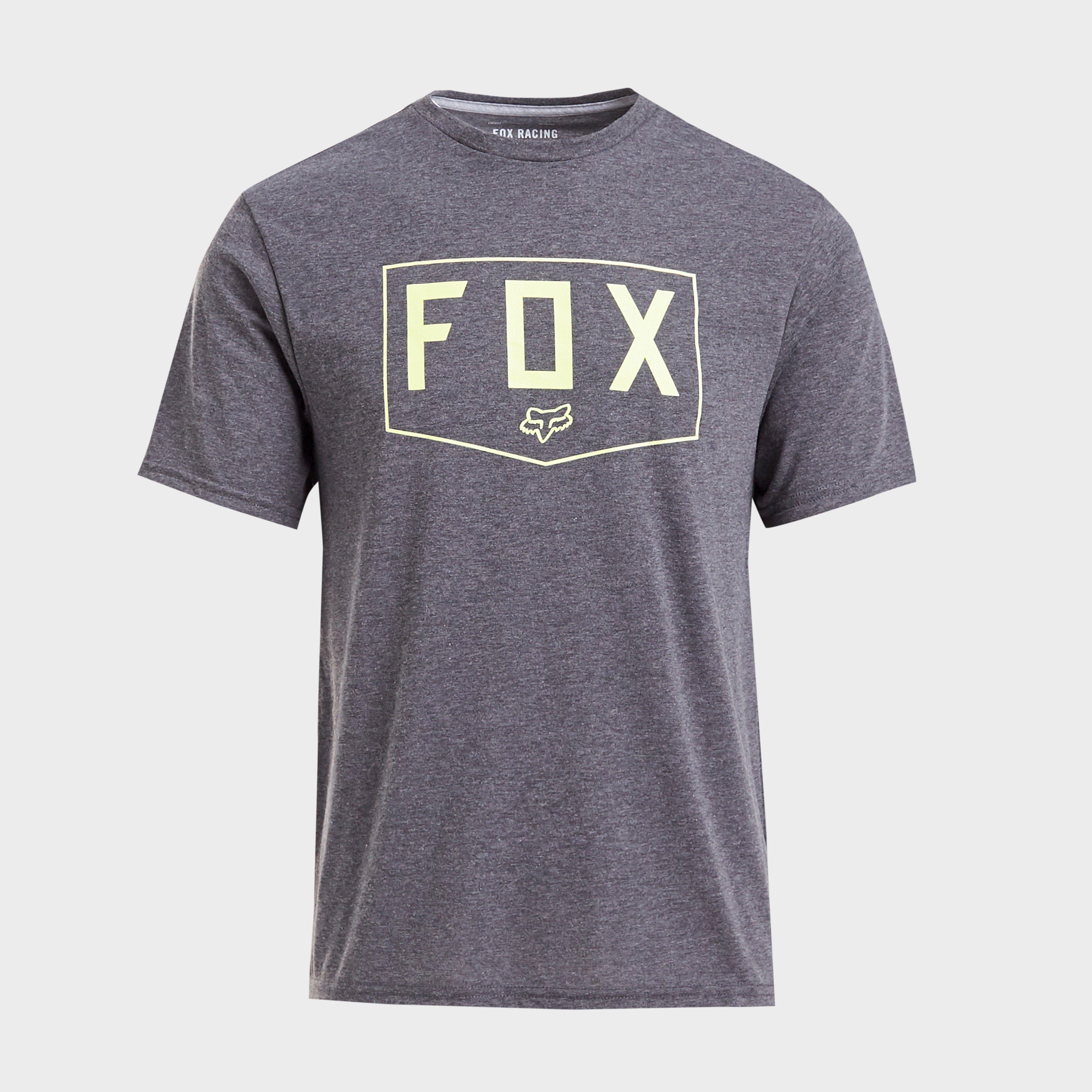 FOX Fox Shield Short Sleeve Tech Tee, Grey