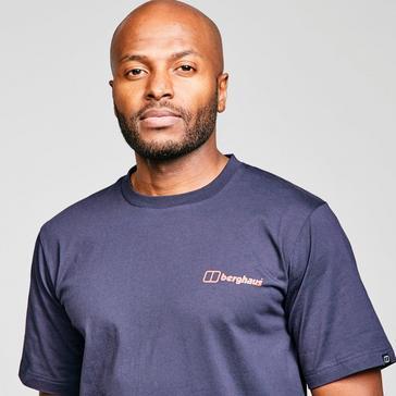 Blue Berghaus Core Logo Short Sleeve T-Shirt