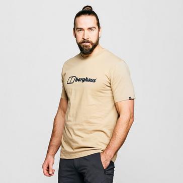 beige Berghaus Men's Logo T-Shirt