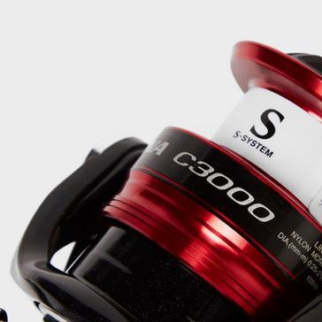 BLACK SHIMANO Sienna FG C3000 Fishing Reel