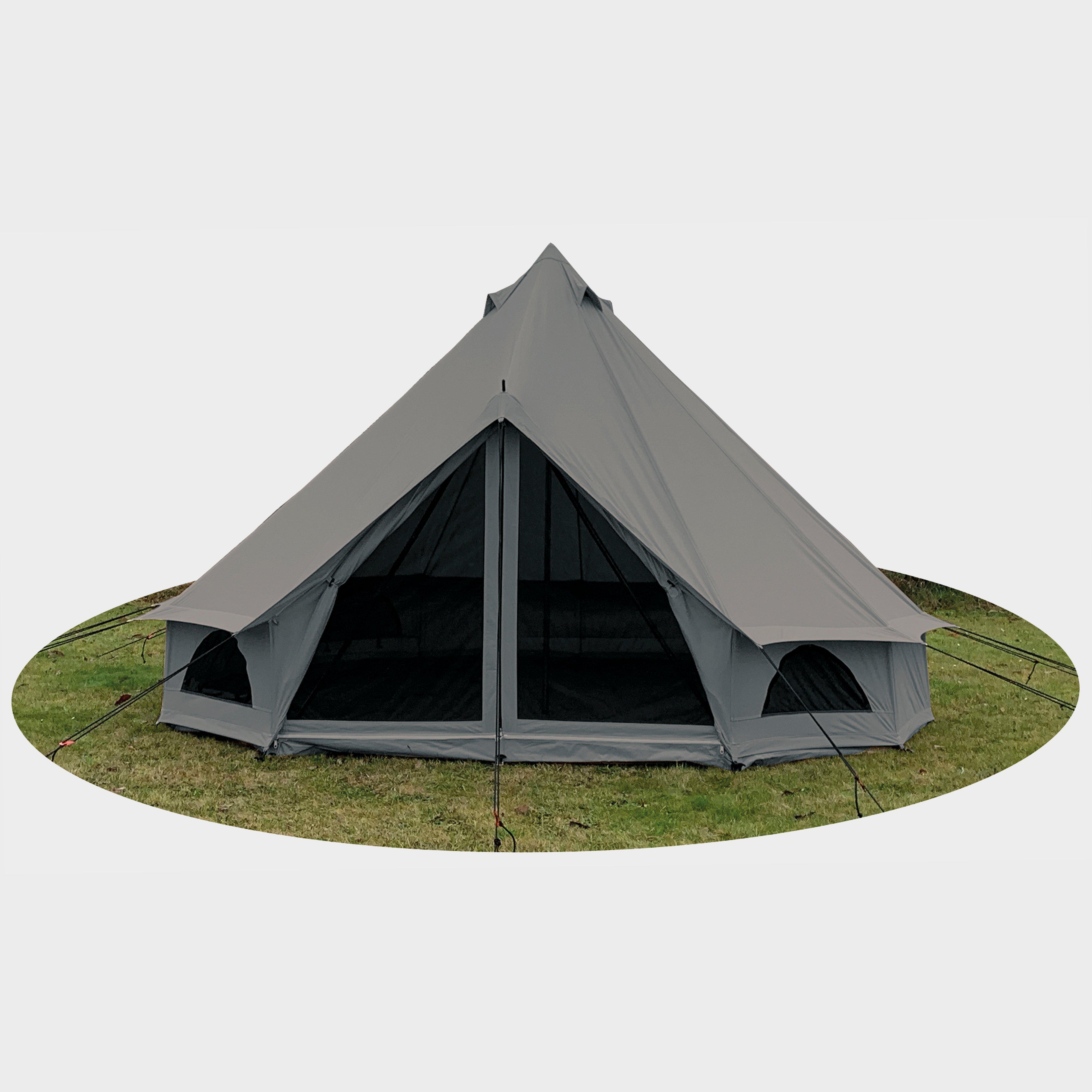 Quest Quest 5-Metre Bell Tent, Grey