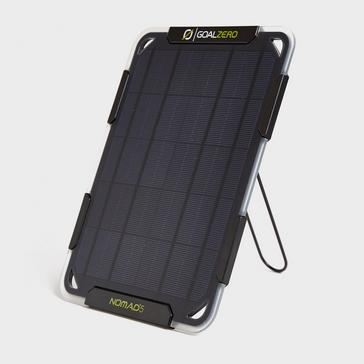 Black Goal Zero Nomad 5 Solar Panel