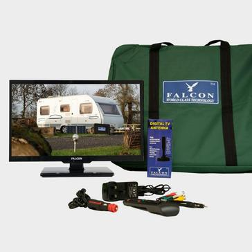 """Multi Falcon TV Plus Pack – 24"""" LED, 12V & Mains with Freeview Antenna"""