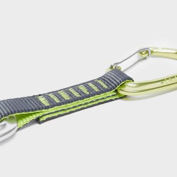 GREEN Camp Orbit Express Wire Quickdraw Carabiners