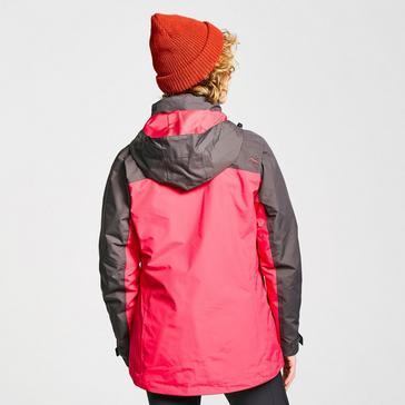 Pink Peter Storm Women's Lakeside 3 in 1 Jacket