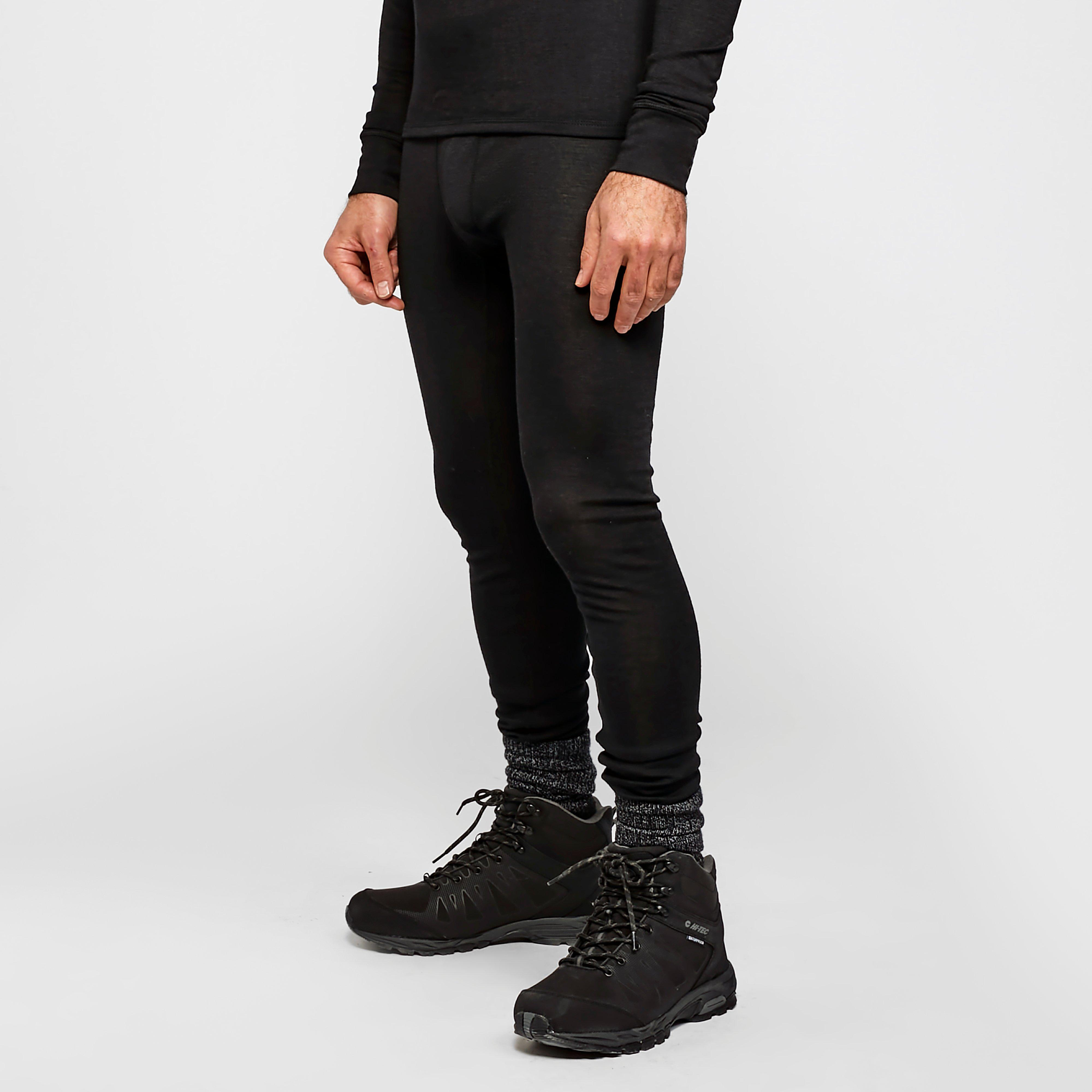 Image of Peter Storm Men's Merino Pant - Black/Black, Black/Black