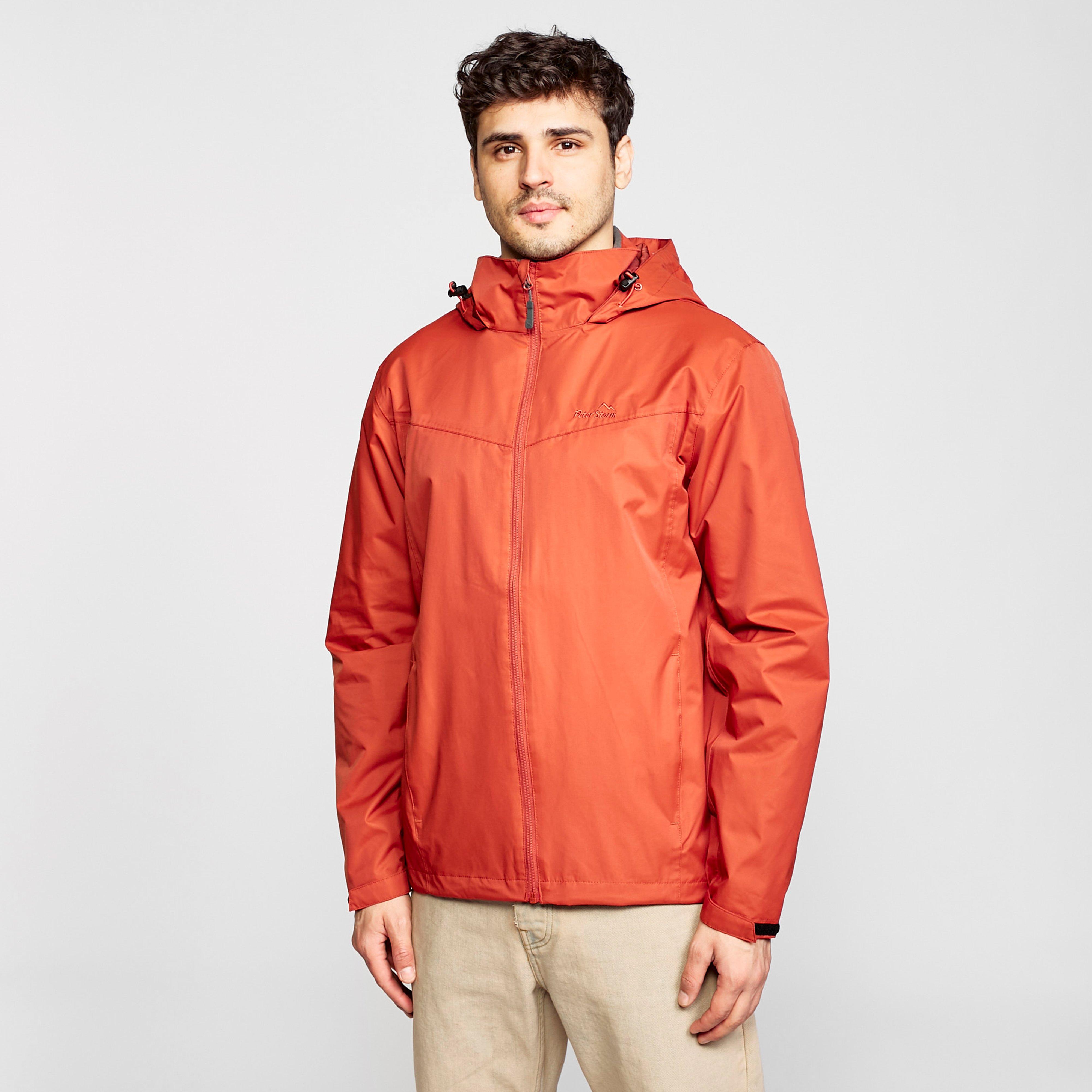 Peter Storm Men's Storm Iii Waterproof Jacket - Orange/Org, Orange