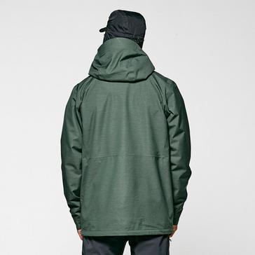 khaki Brasher Men's Textured Waterproof Jacket