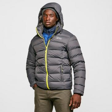 Grey North Ridge Men's Tech Down Jacket