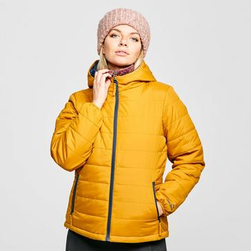 Yellow Peter Storm Women's Blisco Hooded Jacket