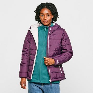 purple Peter Storm Women's Blisco Hooded Jacket