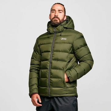 Green North Ridge Men's Tech Down Jacket