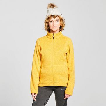 Yellow Brasher Women's Rydal Full-Zip Fleece