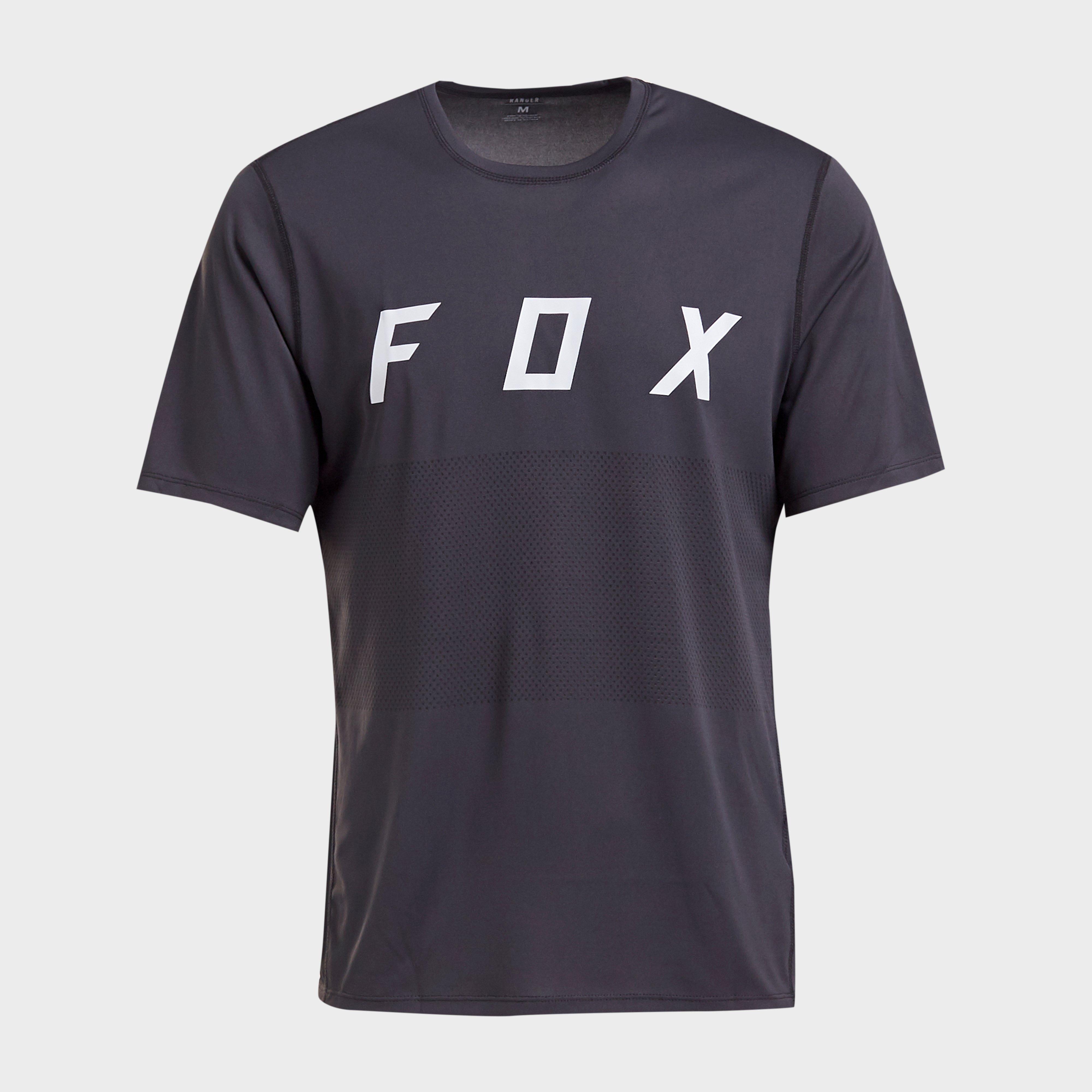 FOX Fox Ranger Short Sleeve Jersey, Black