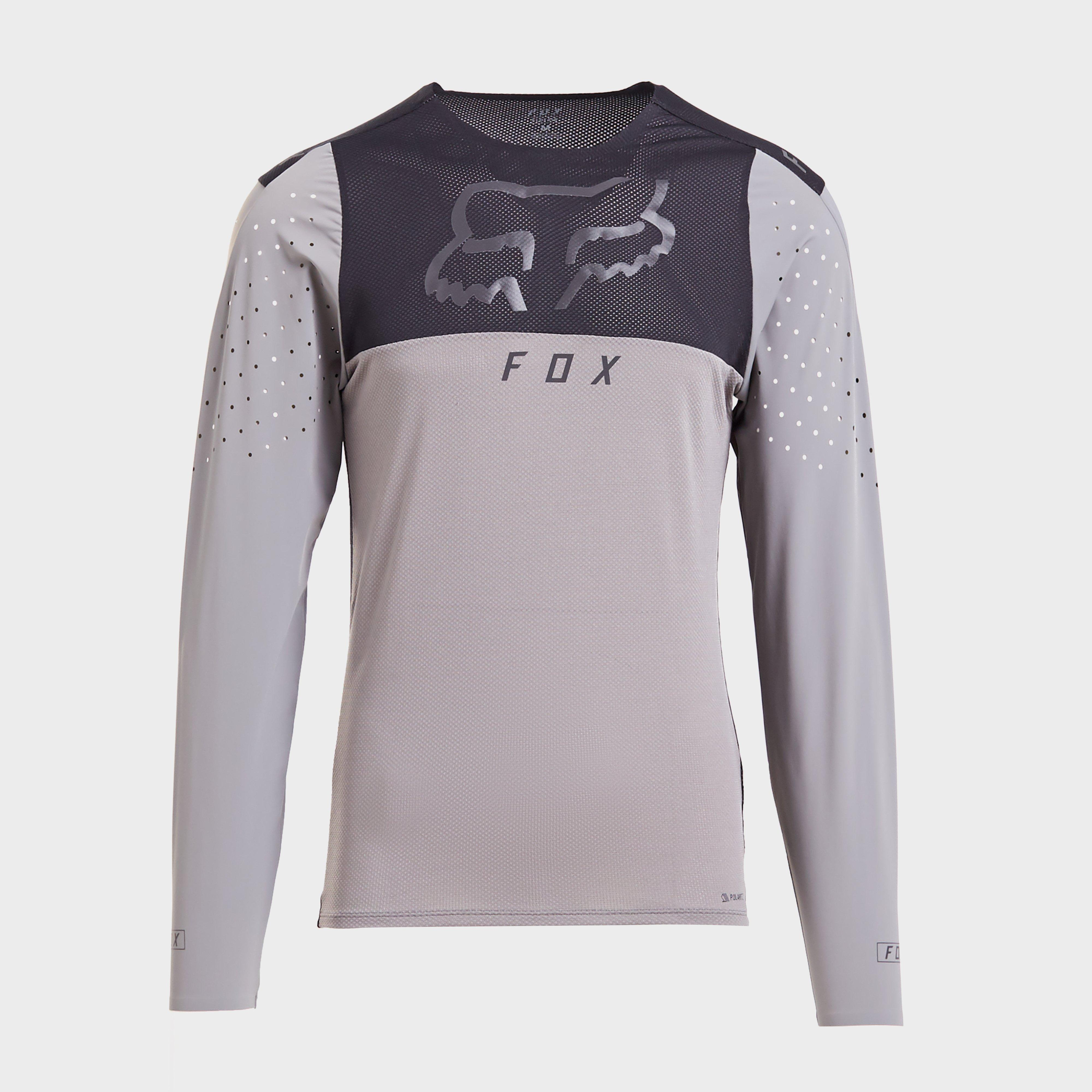 FOX Fox Mens Flexair Delta Long Sleeve Jersey, Purple