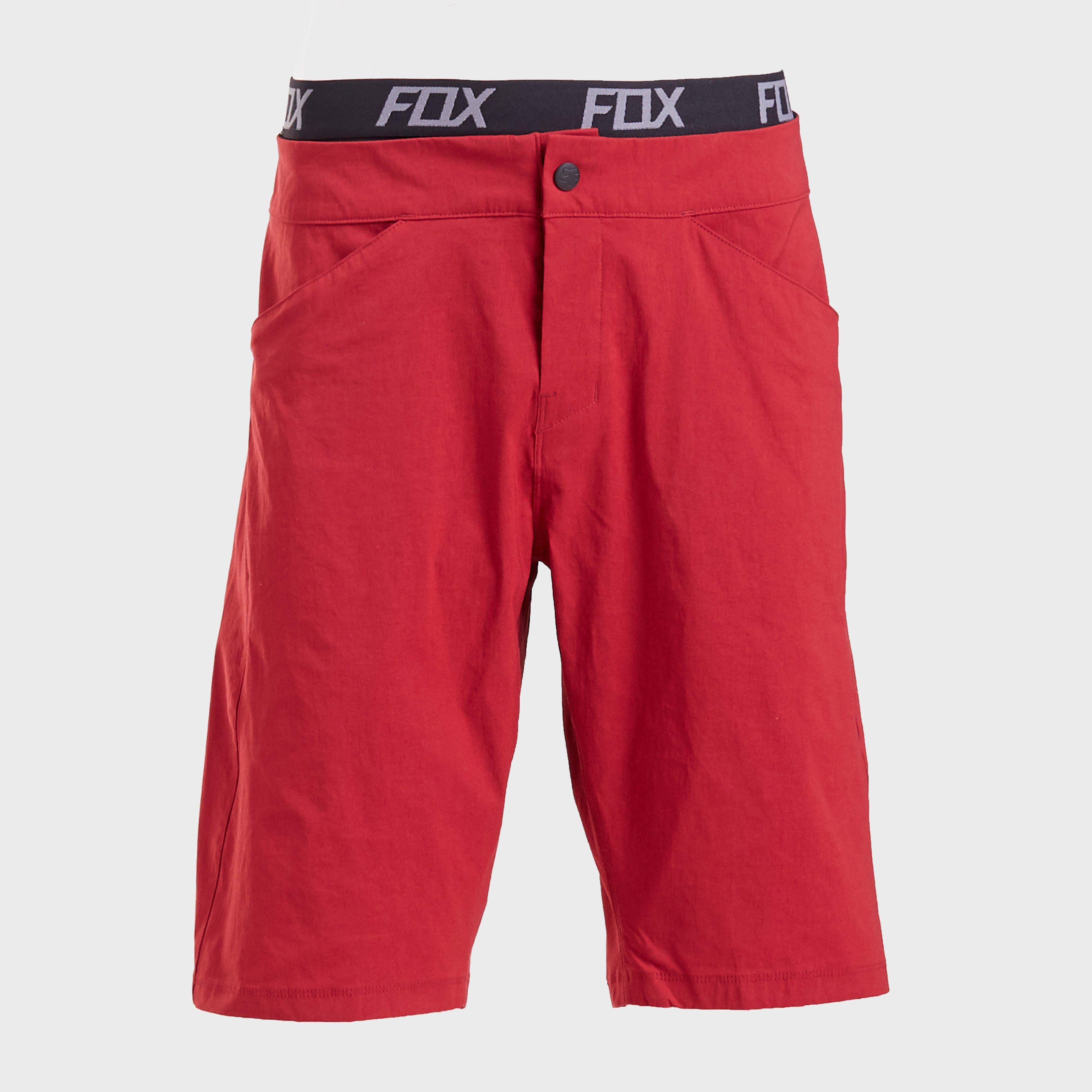 FOX Fox Mens Ranger Lite Shorts, Red