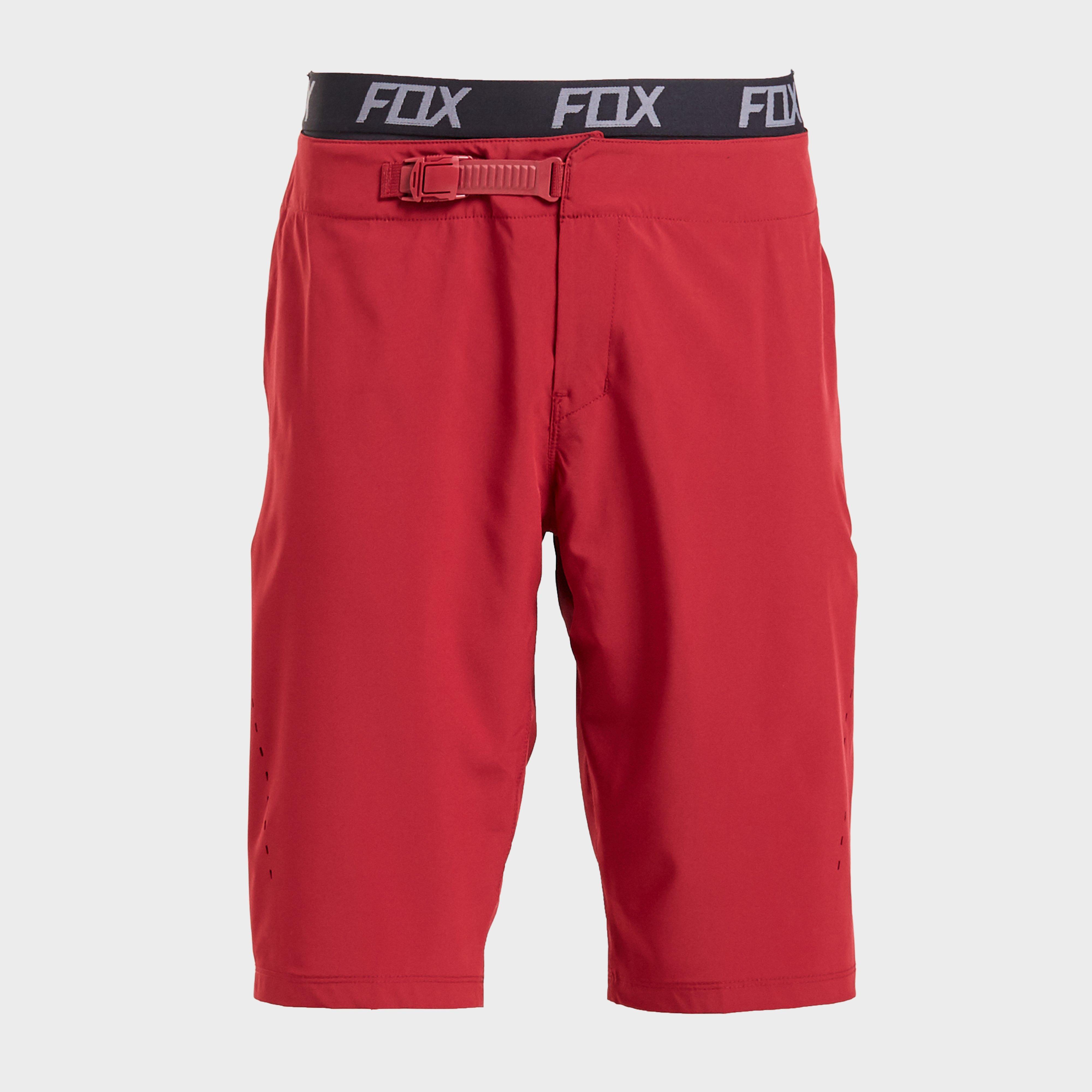 FOX Fox Flexair Lite Shorts, Red