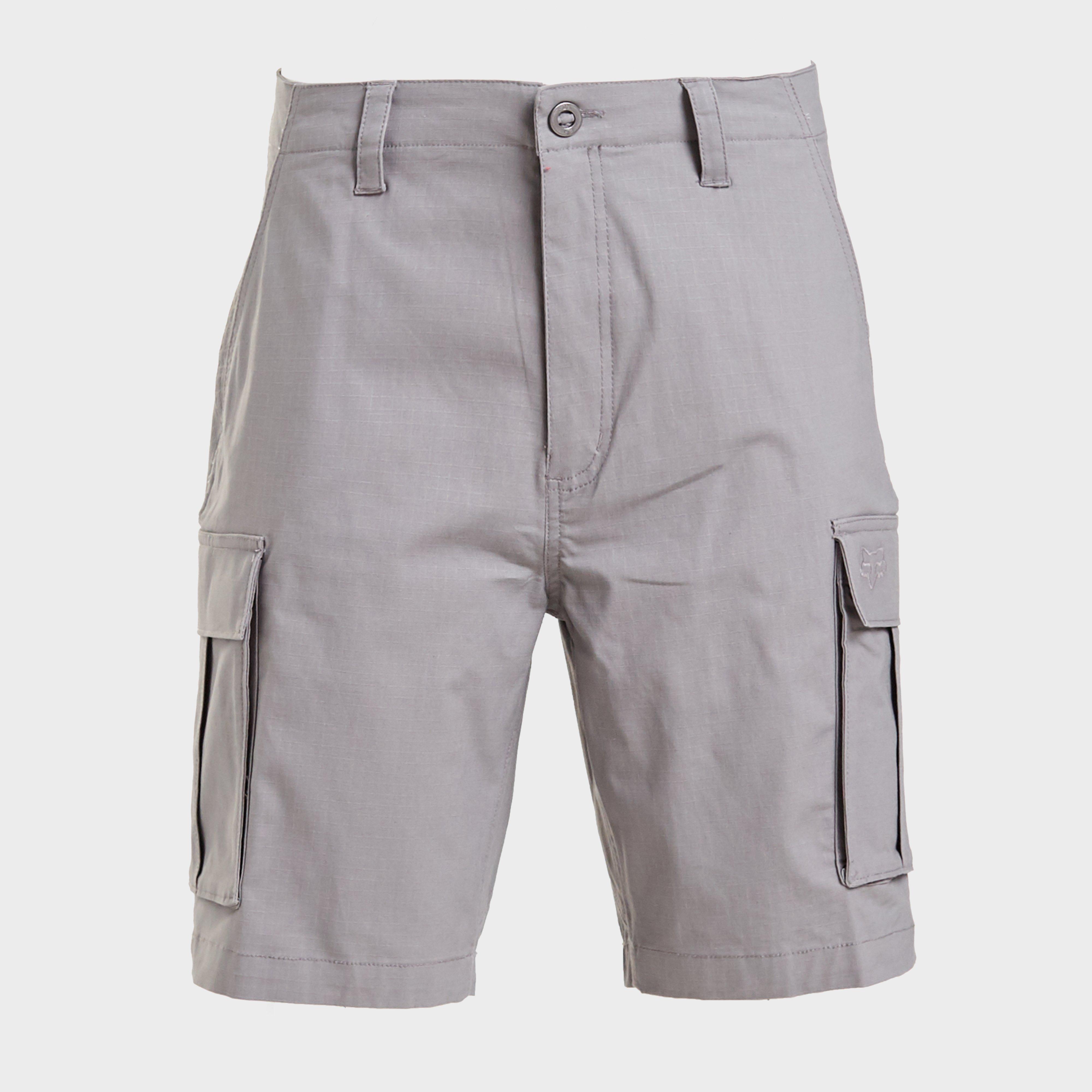 FOX Fox Mens Slambozo 2.0 Cargo Shorts, Grey