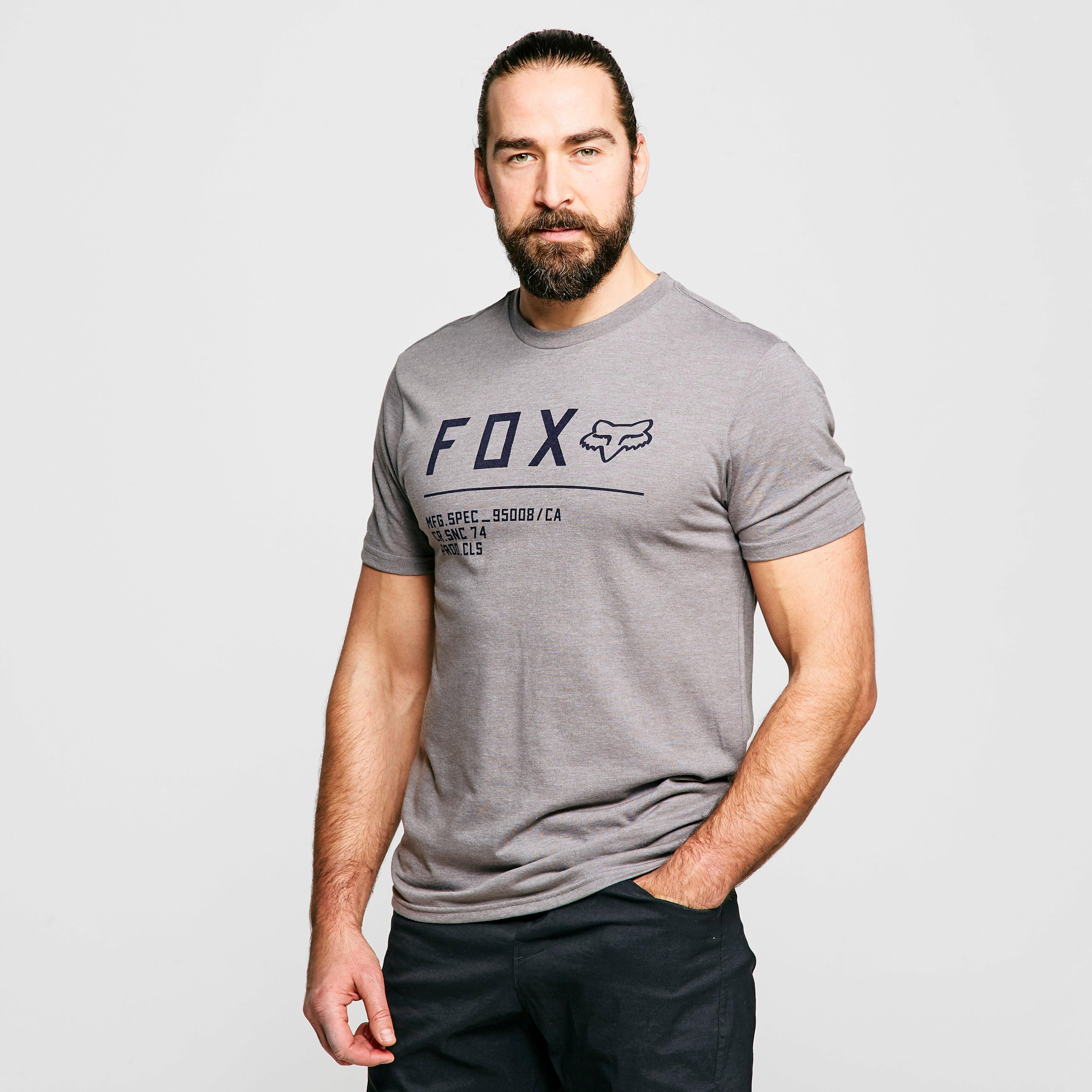 FOX Fox Non Stop Short Sleeve Premium Tee, Grey