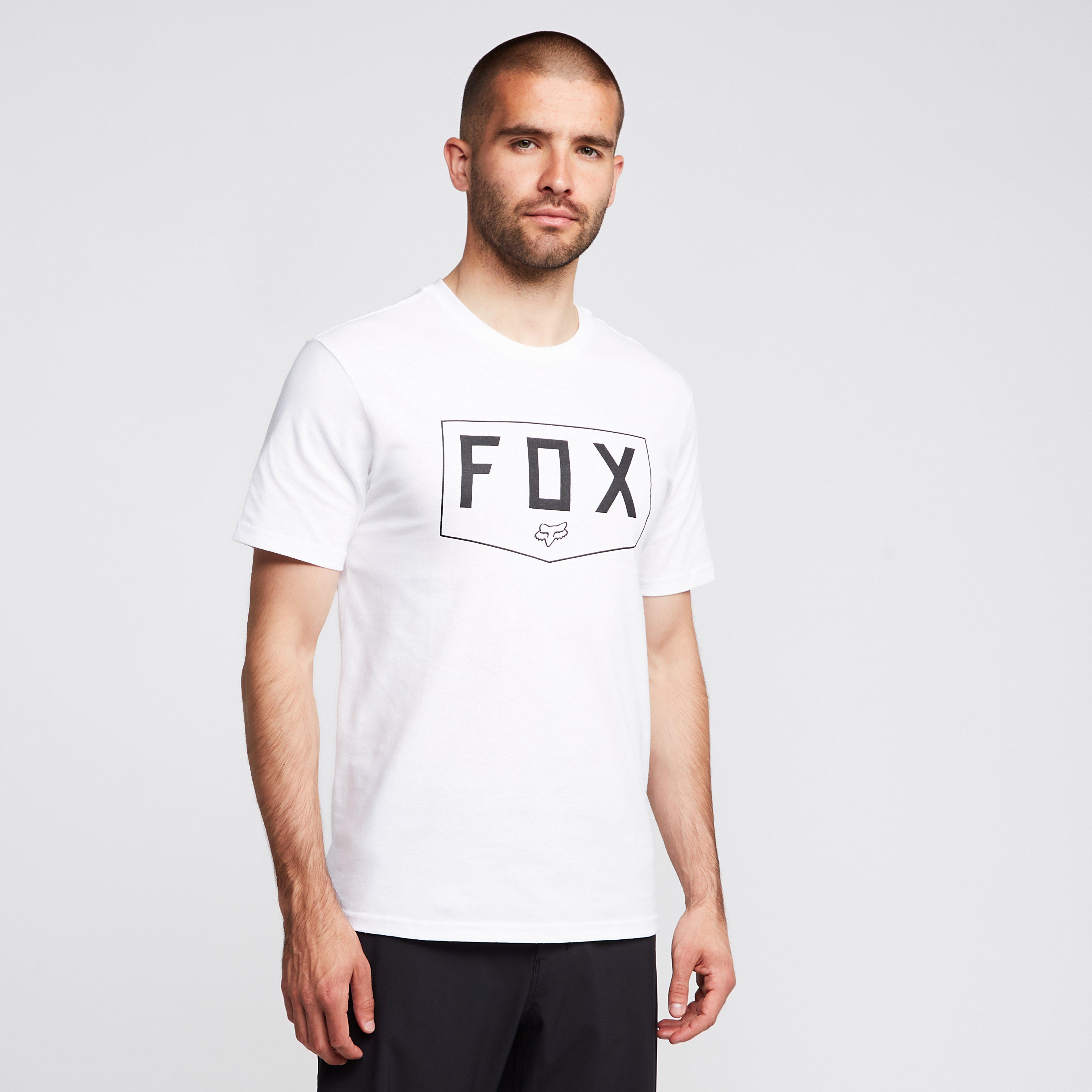 FOX Fox Shield Short Sleeve Premium Tee, White