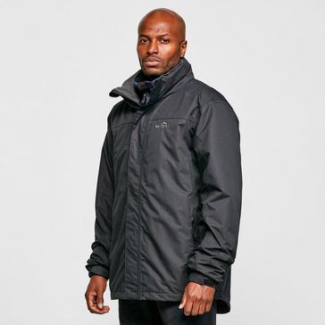 Black Peter Storm Men's Lined Downpour Waterproof Jacket
