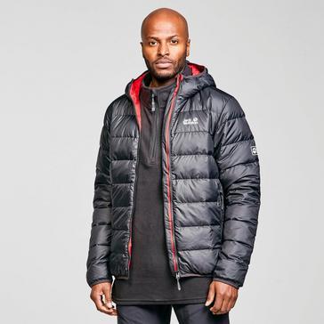 Black Jack Wolfskin Men's Helium Hooded Jacket