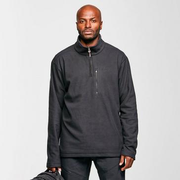 Black Brasher Men's Bleaberry II Half-Zip Fleece