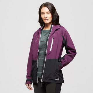 Women's Colourblock Waterproof Jacket
