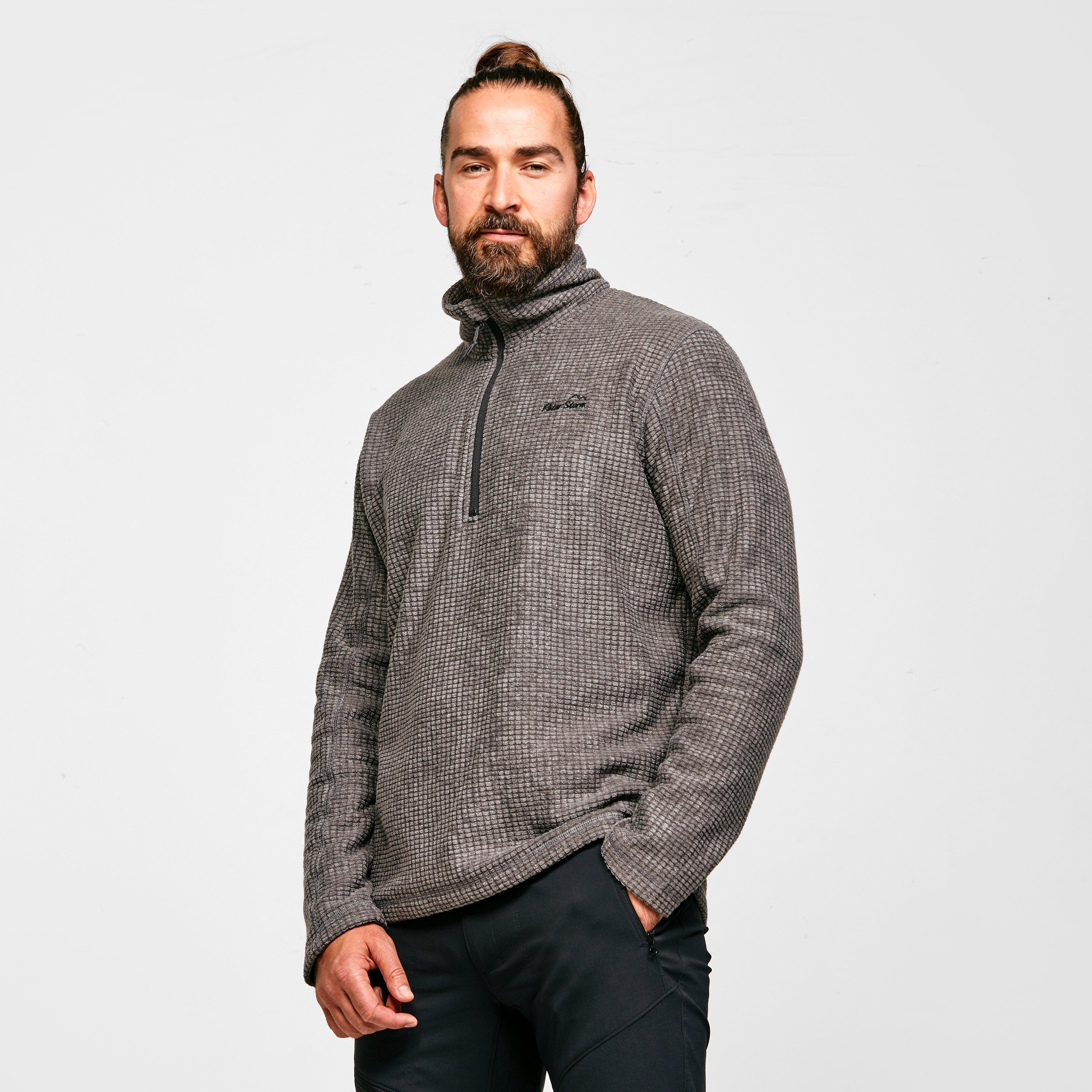 Image of Peter Storm Men's Richmond Fleece - Grey/Dgy, Grey/DGY